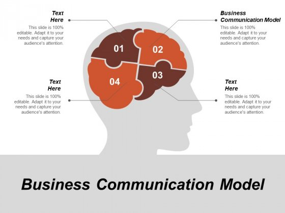 Business Communication Model Ppt PowerPoint Presentation Pictures Sample Cpb