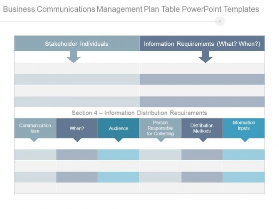 Business communications management plan table powerpoint templates business communications management plan table powerpoint templates powerpoint templates toneelgroepblik Image collections