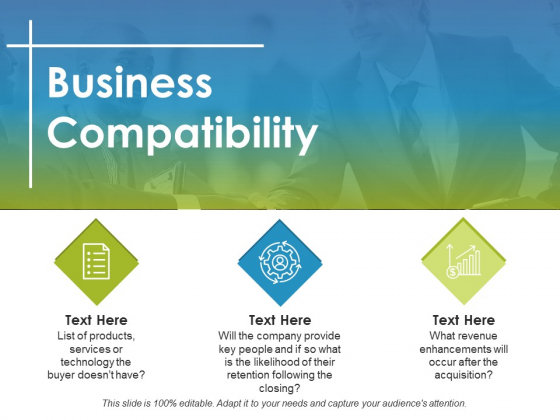 Business Compatibility Ppt PowerPoint Presentation Gallery Show