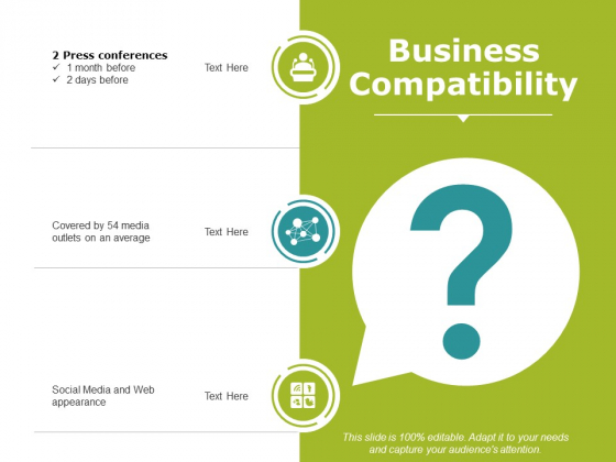 Business Compatibility Ppt PowerPoint Presentation Model Objects