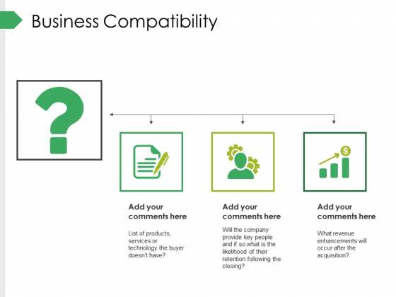Business Compatibility Ppt PowerPoint Presentation Professional