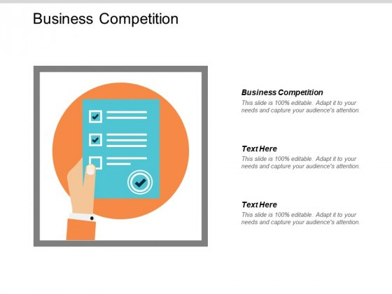 Business Competition Ppt PowerPoint Presentation Model Professional Cpb