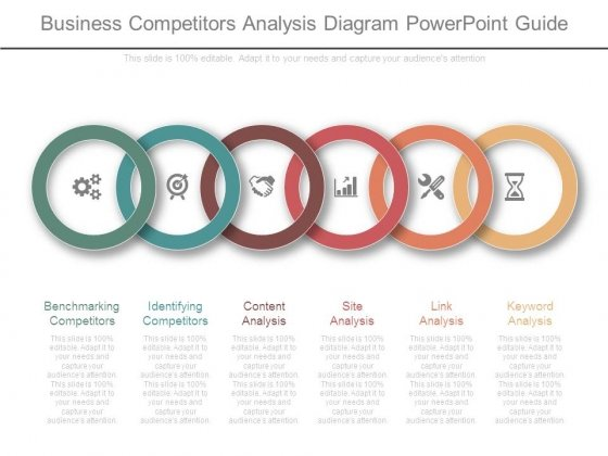 Business Competitors Analysis Diagram Powerpoint Guide