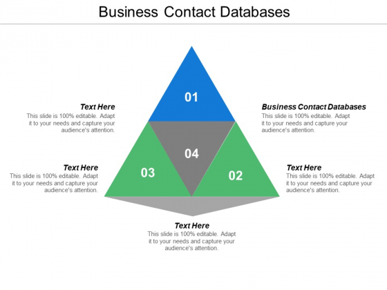 Business Contact Databases Ppt Powerpoint Presentation Layouts Introduction Cpb