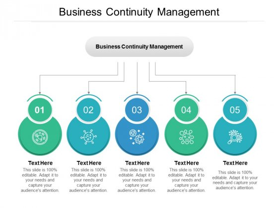 Business Continuity Management Ppt PowerPoint Presentation Show Slide Cpb