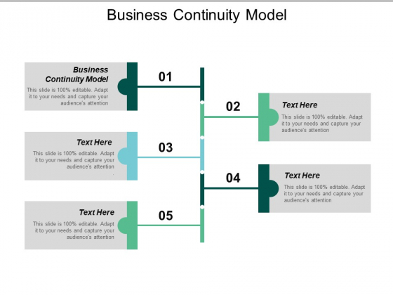 Business Continuity Model Ppt PowerPoint Presentation Show Themes Cpb