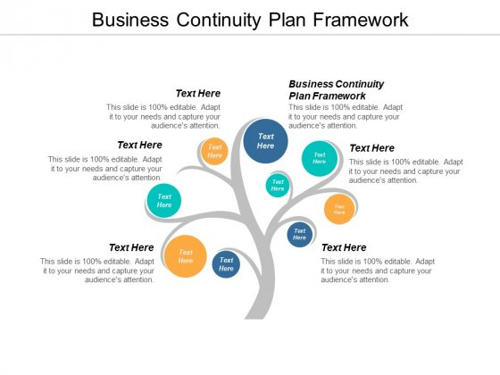 Business Continuity Plan Framework Ppt Powerpoint Presentation Infographic Template Pictures Cpb
