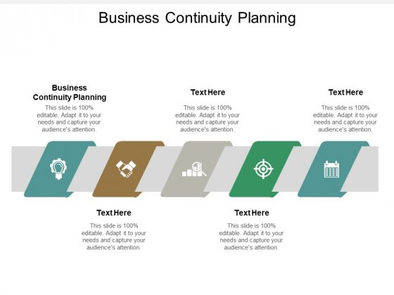 Business Continuity Planning Ppt PowerPoint Presentation Slides Objects Cpb