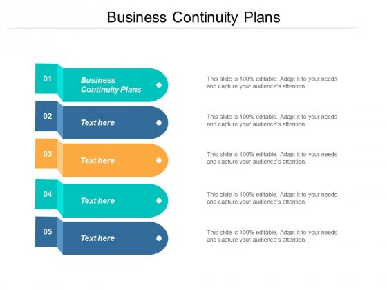 Business Continuity Plans Ppt PowerPoint Presentation Gallery Graphics Template Cpb