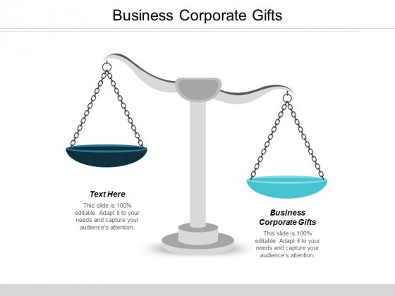 Business Corporate Gifts Ppt PowerPoint Presentation Infographics Icon Cpb