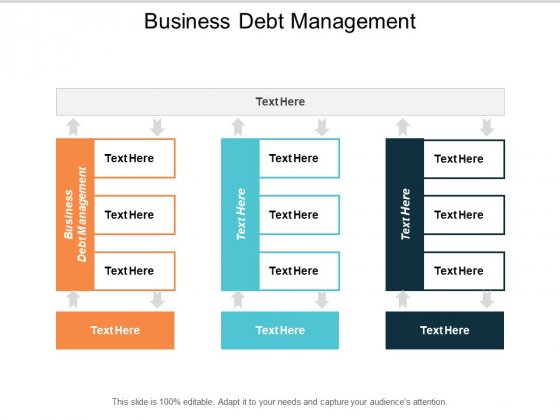 Business Debt Management Ppt Powerpoint Presentation File Example Cpb