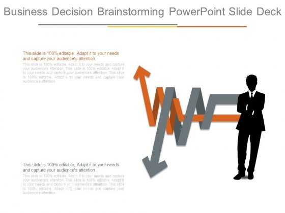 Business Decision Brainstorming Powerpoint Slide Deck