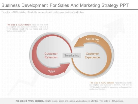 Business Development For Sales And Marketing Strategy Ppt