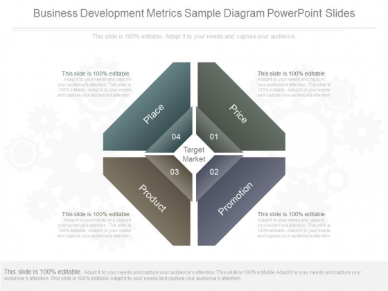 Business Development Metrics Sample Diagram Powerpoint Slides