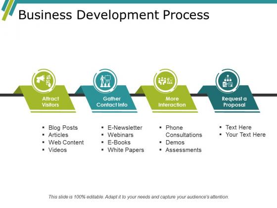 Business Development Process Ppt PowerPoint Presentation Summary Show