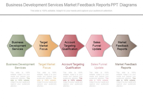 Business Development Services Market Feedback Reports Ppt Diagrams