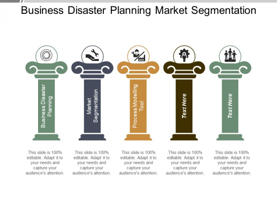 Business Disaster Planning Market Segmentation Process Modelling Tool Ppt PowerPoint Presentation Layouts Infographic Template