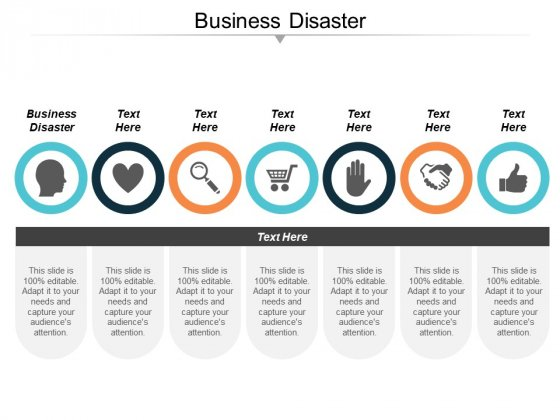 Business Disaster Ppt PowerPoint Presentation Infographics Themes Cpb