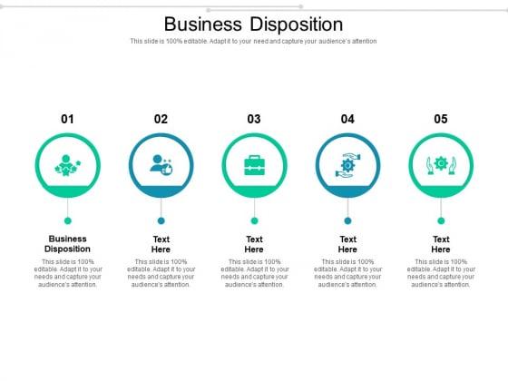 Business Disposition Ppt PowerPoint Presentation Slides Gridlines Cpb Pdf