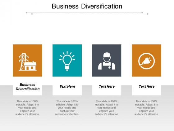 Business Diversification Ppt PowerPoint Presentation Portfolio Demonstration Cpb