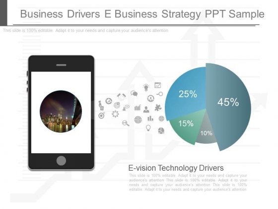 Business Drivers E Business Strategy Ppt Sample
