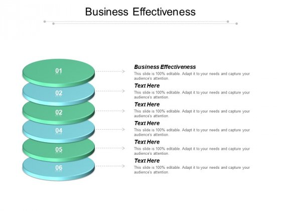 Business Effectiveness Ppt PowerPoint Presentation Show Themes Cpb