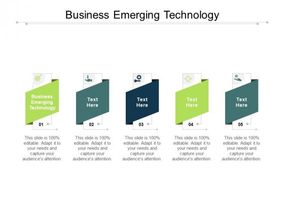 Business Emerging Technology Ppt PowerPoint Presentation Model Smartart Cpb Pdf