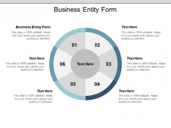 Business Entity Form Ppt PowerPoint Presentation Model Clipart Images