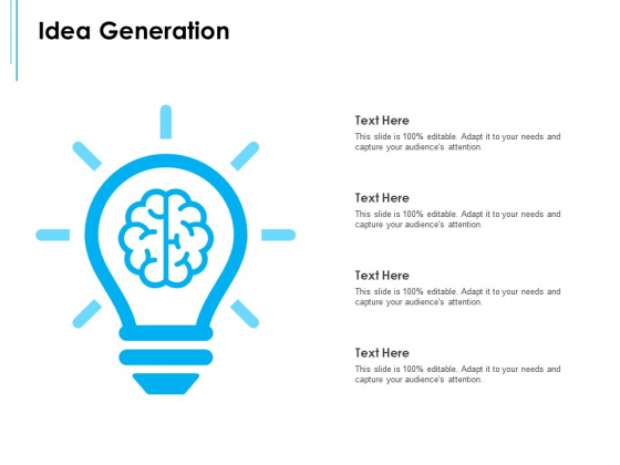 Business Environment Components Idea Generation Ppt Portfolio Objects PDF
