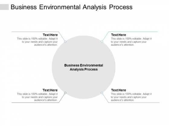 Business Environmental Analysis Process Ppt PowerPoint Presentation Styles Outline Cpb