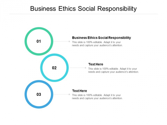 business ethics social responsibility ppt powerpoint presentation show tips cpb