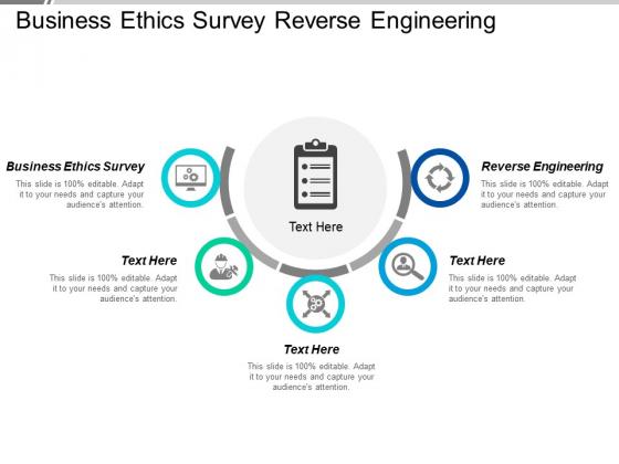 Business Ethics Survey Reverse Engineering Ppt PowerPoint Presentation Infographics Portrait