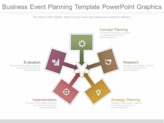 Business Event Planning Template Powerpoint Graphics