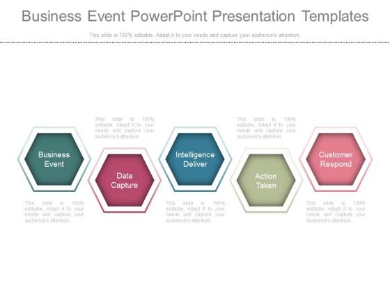 Business Event Powerpoint Presentation Templates