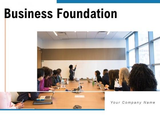 Business Foundation Plan Communication Ppt PowerPoint Presentation Complete Deck
