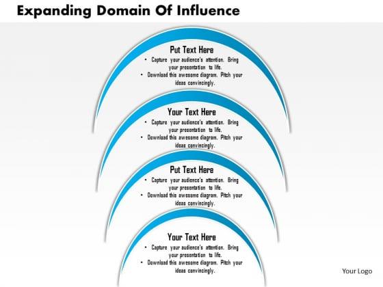 Business Framework Expanding Domain Of Influence PowerPoint Presentation
