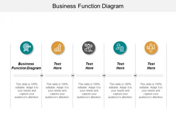 Business Function Diagram Ppt PowerPoint Presentation Infographic Template Elements Cpb