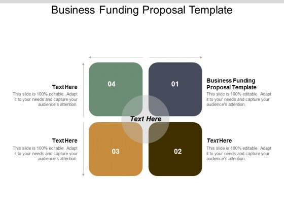 Business Funding Proposal Template Ppt PowerPoint Presentation Summary Gallery Cpb