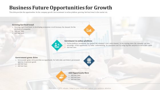 Business Future Opportunities For Growth Sample PDF