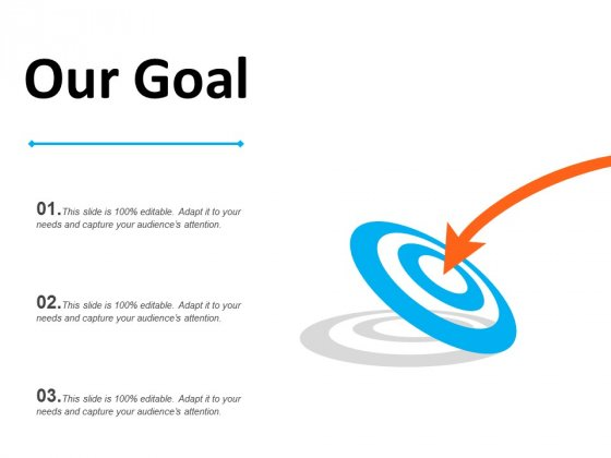 Business Goal Free PowerPoint Diagram