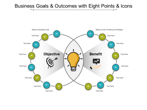 Business_Goals_And_Outcomes_With_Eight_Points_And_Icons_Ppt_PowerPoint_Presentation_Infographic_Template_Brochure_Slide_1