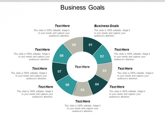 Business Goals Ppt Powerpoint Presentation Infographics Samples Cpb