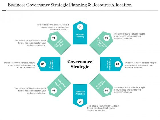 Business Governance Strategic Planning And Resource Allocation Ppt Powerpoint Presentation Icon Mockup