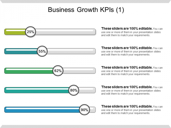 Business Growth Kpis Ppt PowerPoint Presentation File Good