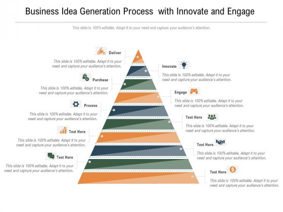 Business_Idea_Generation_Process_With_Innovate_And_Engage_Ppt_PowerPoint_Presentation_File_Maker_PDF_Slide_1