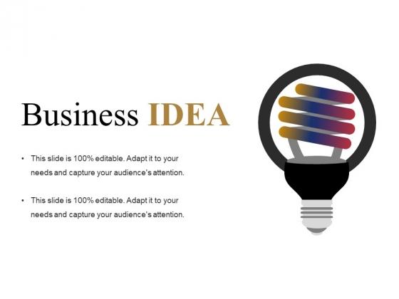 Business Idea Ppt PowerPoint Presentation Ideas Slides