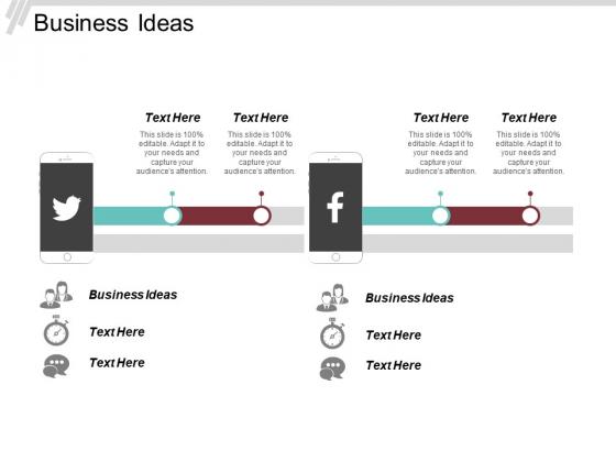 Business Ideas Ppt PowerPoint Presentation File Ideas Cpb