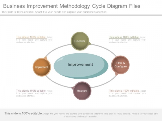 Business Improvement Methodology Cycle Diagram Files