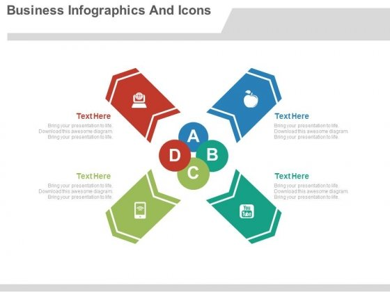 Business Infographics Theme Design Powerpoint Slides
