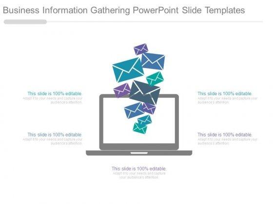 Business Information Gathering Powerpoint Slide Templates